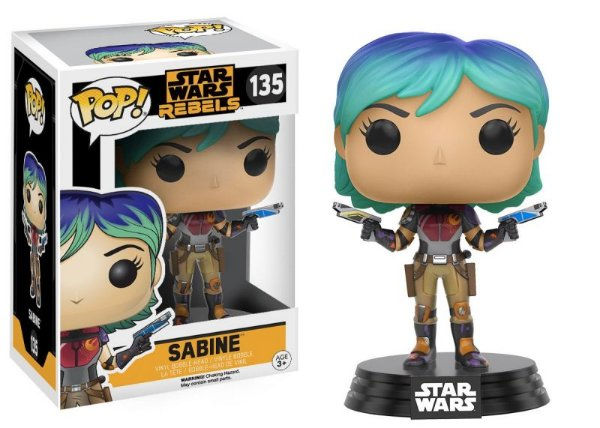 Sabine - Star Wars Rebels Funko Pop
