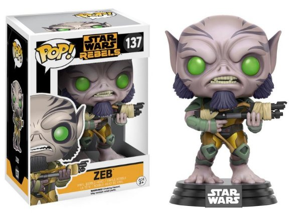 Zeb - Star Wars Rebels Funko Pop