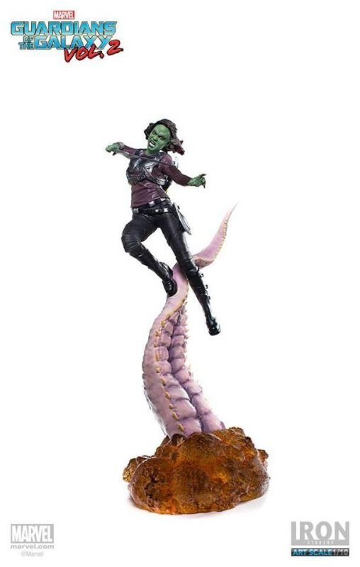 Gamora - Guardiões da Galáxia Vol.2 Marvel BDS Art Scale 1:10 Iron Studios