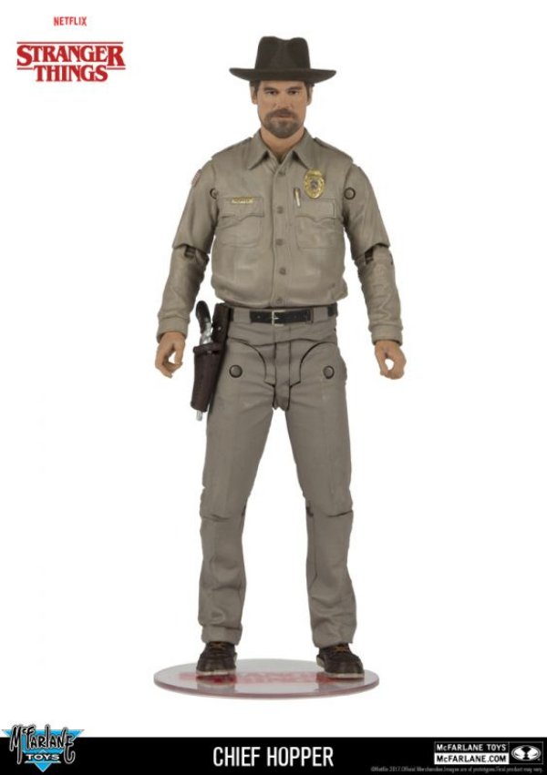 Chief Hopper - Stranger Things McFarlane Toys
