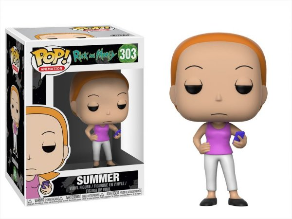 Summer - Rick and Morty Funko Pop Animation