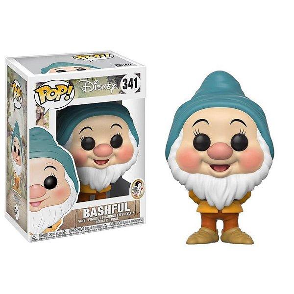 Dengoso (Bashful) Branca de Neve Snow White Disney Funko Pop