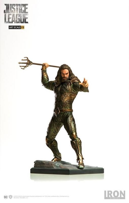 Aquaman - Justice League 1:10 Art Scale Iron Studios