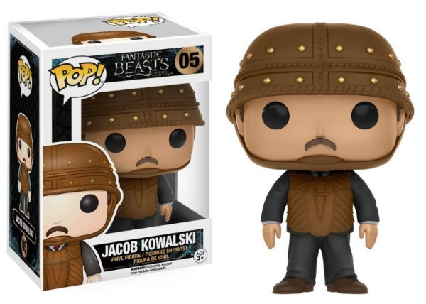 Jacob Kowalski - Animais Fantásticos Fantastic Beasts Funko Pop