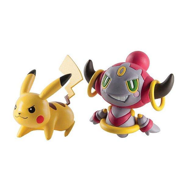 Pikachu vs Hoopa Pokémon - Tomy