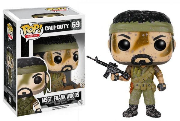 Msgt. Frank Woods - Call Of Duty Funko Pop Games