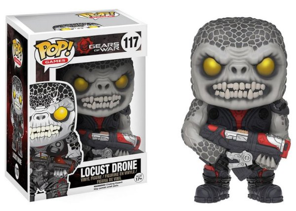 Locust Drone - Gears of War Funko Pop Games