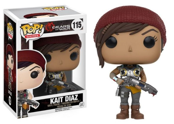 Kait Diaz - Gears of War Funko Pop Games