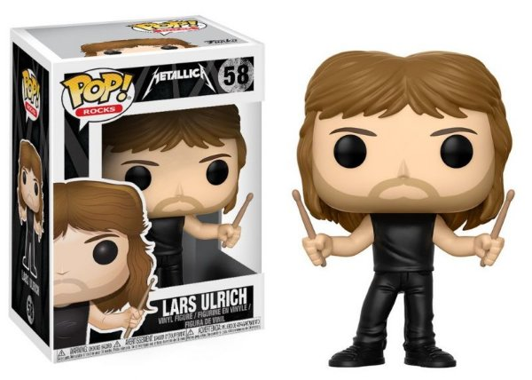 Lars Ulrich - Metallica Funko Pop Rocks