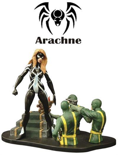 Arachne Julia Carpenter - Marvel Select
