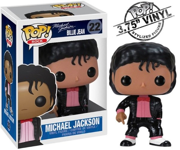 Michael Jackson - Billie Jean - Funko Pop Rock