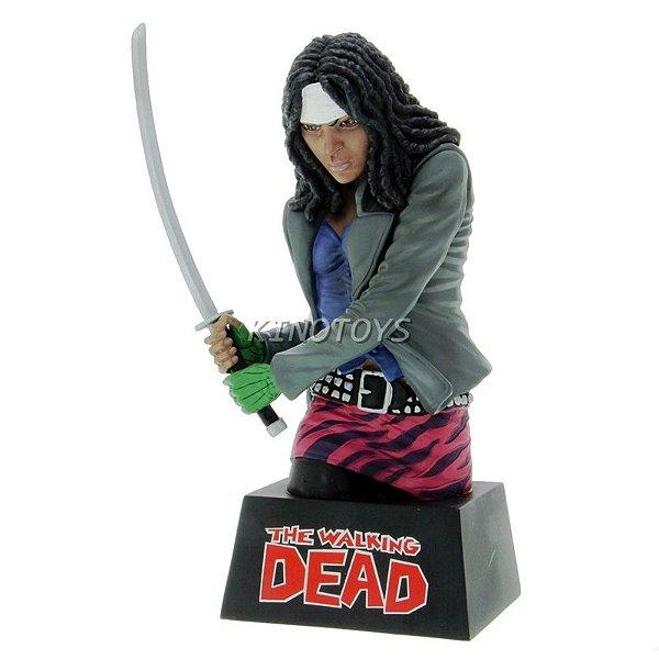Michonne - Cofre Para Moedas The Walking Dead Diamond Select Toys