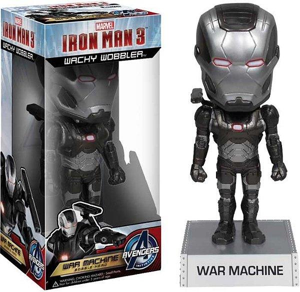 War Machine Homem de Ferro 3 Funko Wacky Wobbler