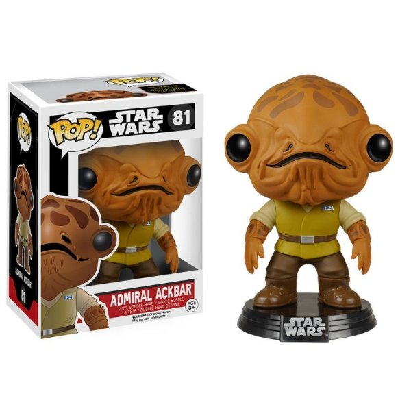 Admiral Ackbar Star Wars VII Funko Pop