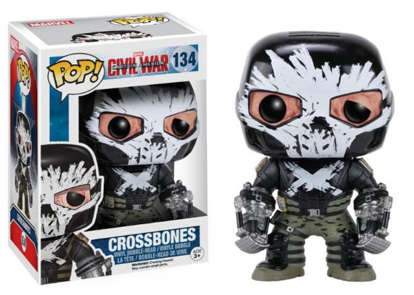 Crossbones - Capitão América Civil War Funko Pop