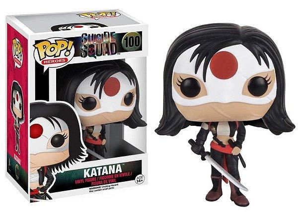 Katana Suicide Squad Esquadrão Suicida Funko Pop Heroes