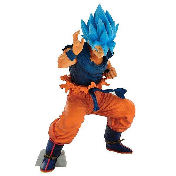 Goku Blue Dragon Ball Super Masterlise Banpresto