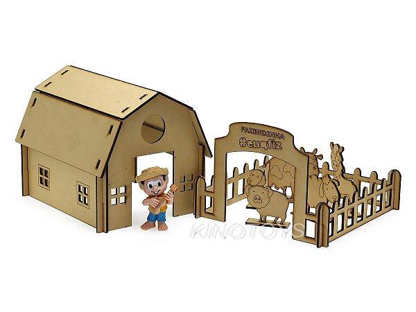 Fazendinha do Chico Bento (Montar e Pintar) - I9 Brinquedos