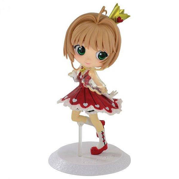 Sakura Kinomoto Sakura Card Captors - Clear Card Ver.A Q Posket Banpresto