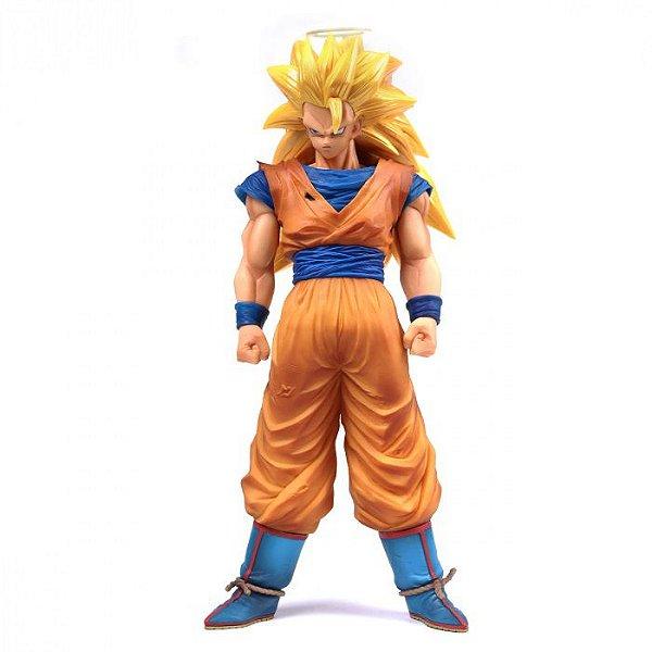 Goku Super Sayajin 3 - Dragon Ball Z Grandista Nero Banpresto