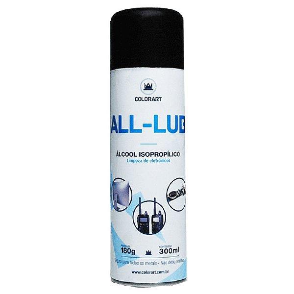 Álcool Isopropílico Spray All Lub 300ml