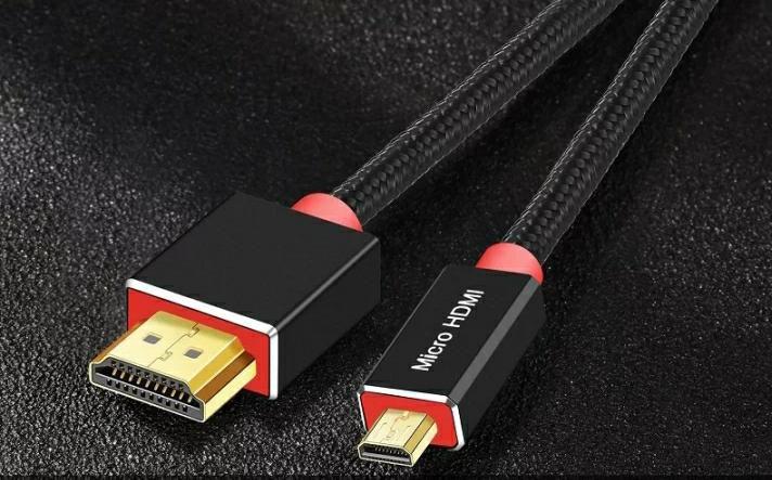 Cabo HDMI para Micro HDMI 1m
