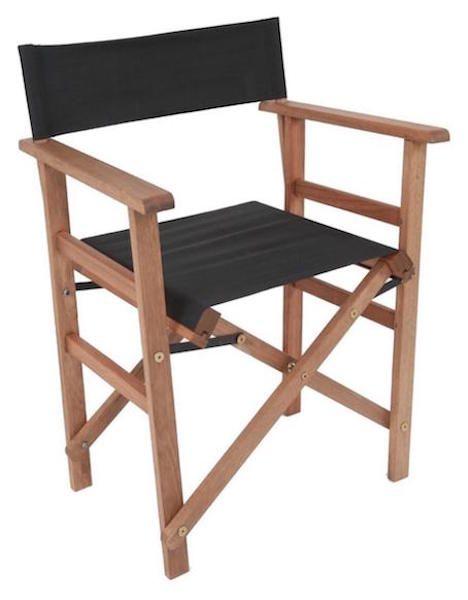 Cadeira Diretor de Cinema Madeira Natural
