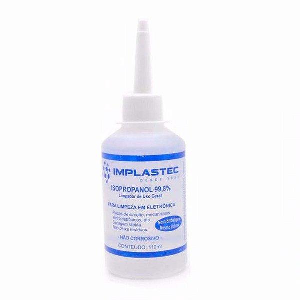 Álcool Isopropílico Implastec 110ml
