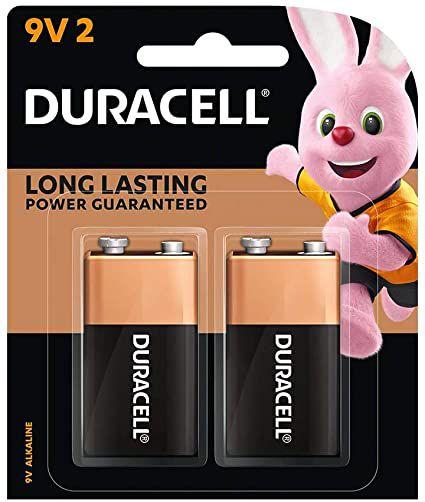 Bateria Alcalina 9v Duracell c/ 2 unidades