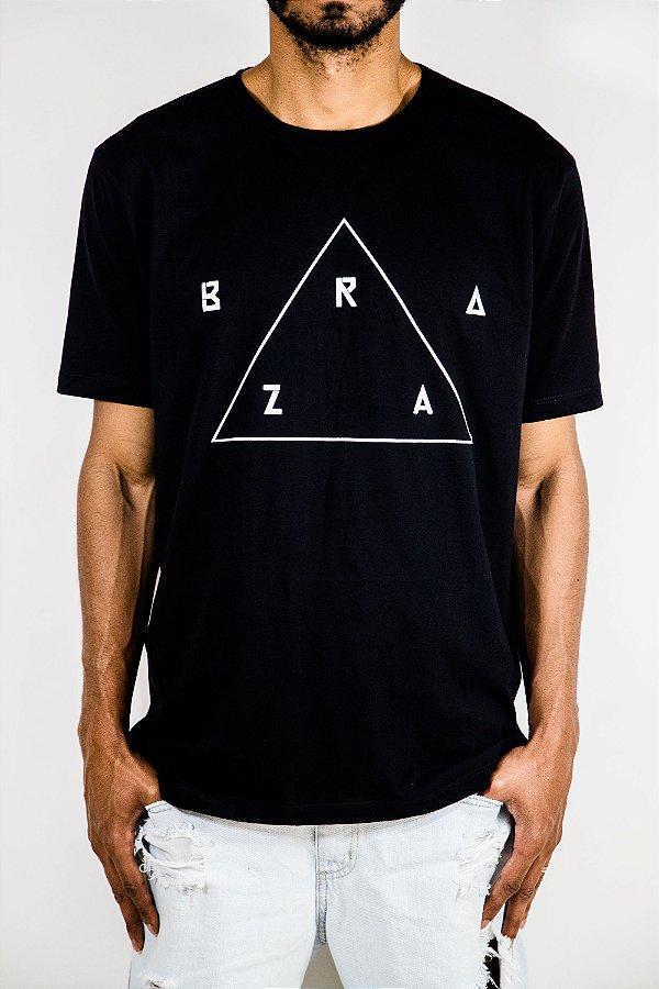 Camisa Tshirt BRAZA - Preta