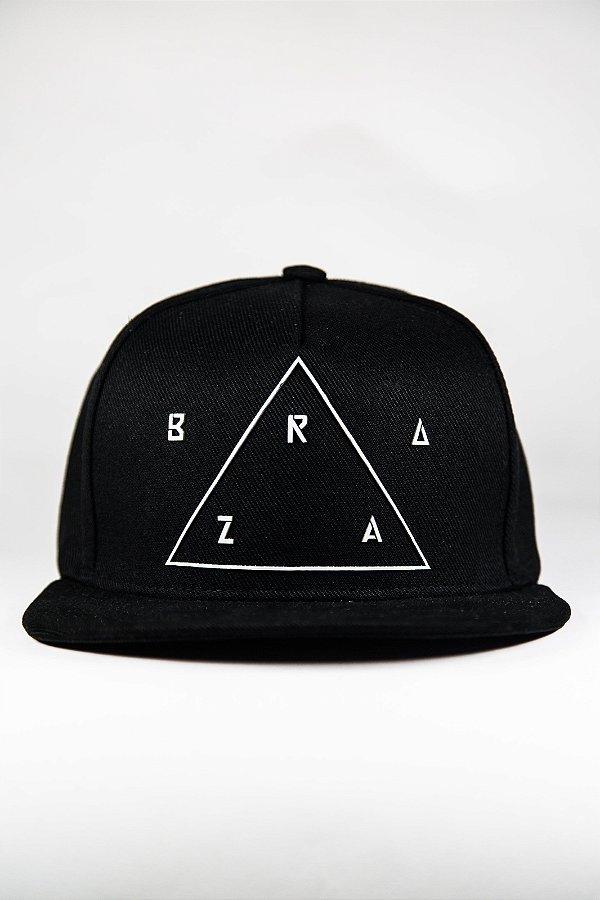 Boné BRAZA - Preto