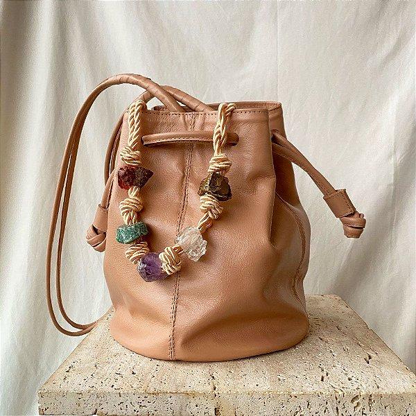 Sac Bag Cristais - Rosé