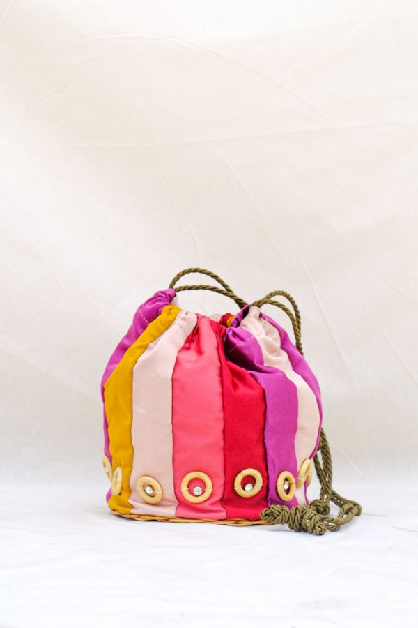 Maxi Bardot Bag Rainbow