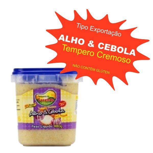Tempero Caseiro Cremoso - Alho e Cebola 480g