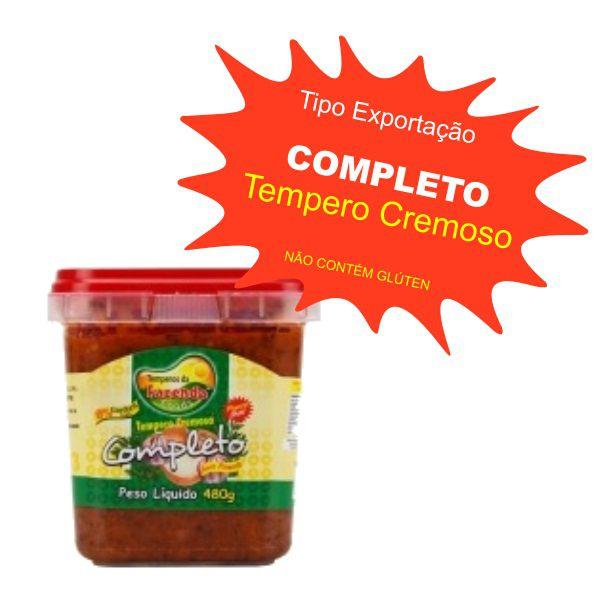 Tempero Caseiro Cremoso - Completo 480g