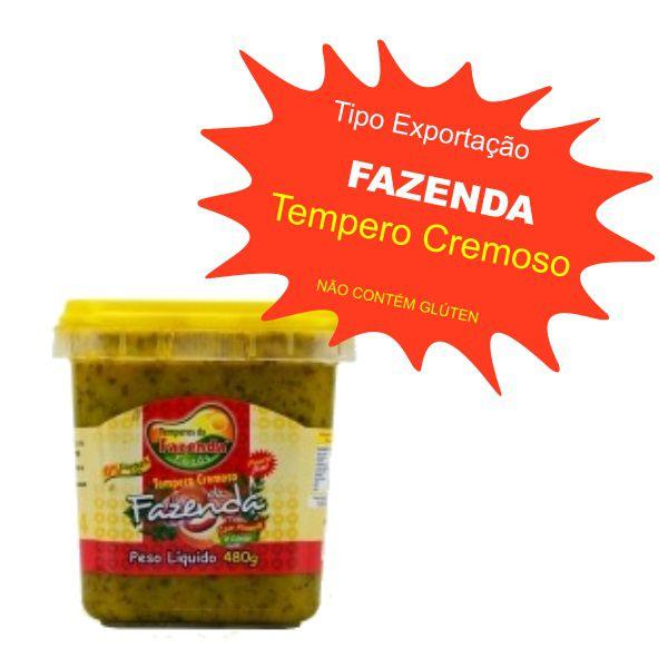 Tempero Caseiro Cremoso - Fazenda 480g