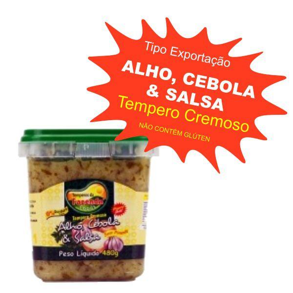 Tempero Caseiro Cremoso - Alho, Cebola & Salsa 480g