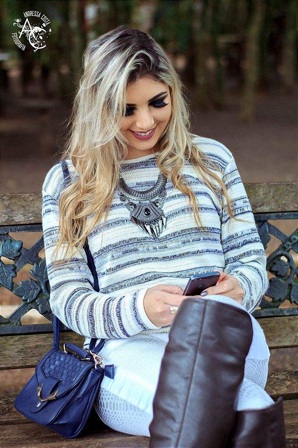 Blusinha trico atacado inverno verão moda feminina frio