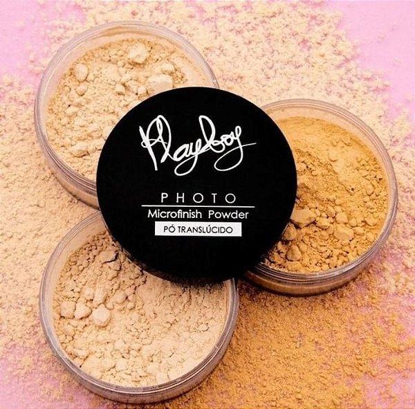 Pó Translúcido Microfinish Powder Playboy