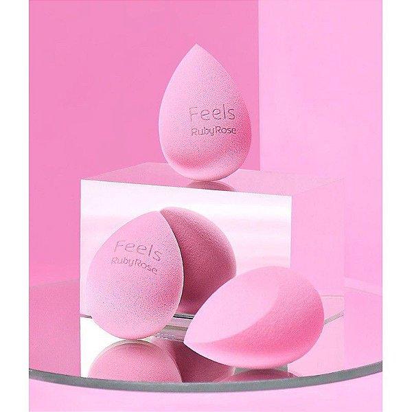 Esponja Maquiagem Soft Blender Ruby Rose
