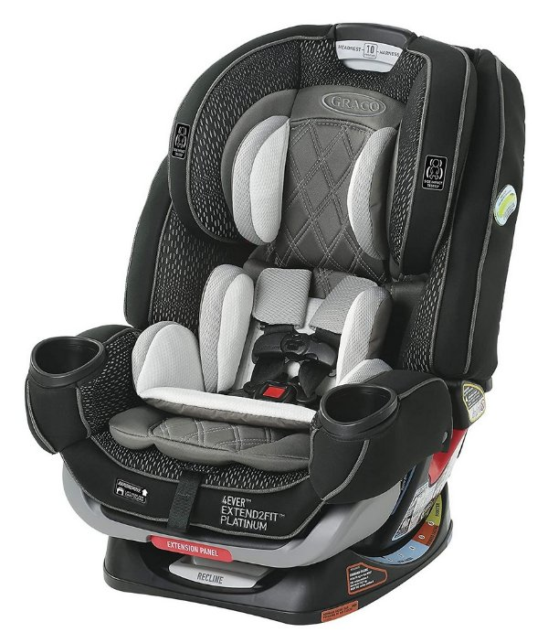 Graco 4ever Extend2fit Platinum 4-in-1 Car Seat Hurley