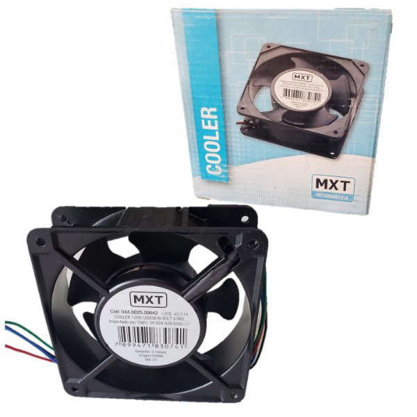 Micro Ventilador Cooler Ventoinha Fam 120 X 120 X 38mm 110v/ 220v