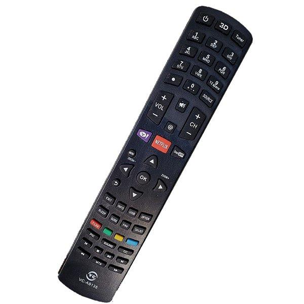 Controle Remoto Universal Compativél Com Tv Philco Diversos Modelos PH24 / PH32 Led / PH42 Led / PH46 Led / PH55 Led