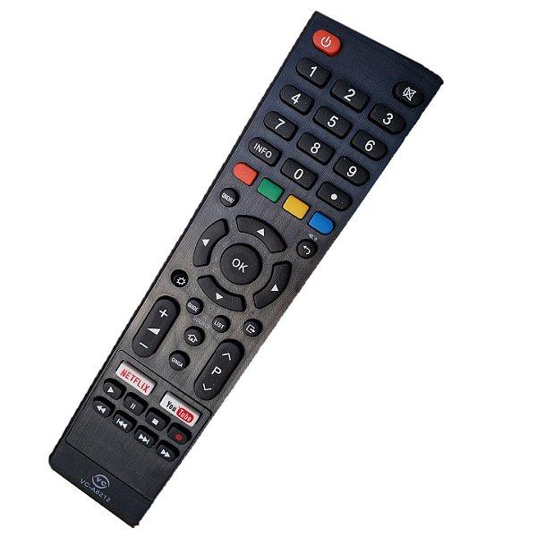 Controle Remoto Universal Smart Philco 4K com as Teclas YouTube / NETEFLIX  / PTV32G52S / PTV32M60S /PTV40E60SN