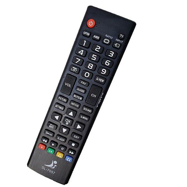 Controle remoto Universal TV Lg Lcd led 32LW300 / 32LW300C / 43LW300 / 43LW300C / 49LW300 / 49LW300C / LW340 / LW340C