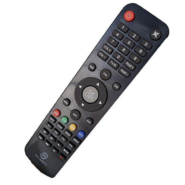 Controle Remoto Universal Para Receptor Digital Az America s800/s806/s807/s808/s810/s812/s900/s912 e f90