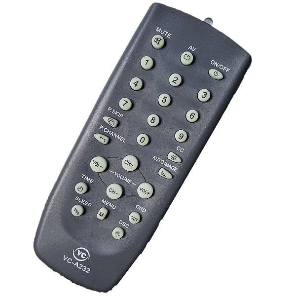 Controle Remoto Universal para TV Tubo CCE 14 / 20 / 29 Polegadas Compativél Para todos Modelos