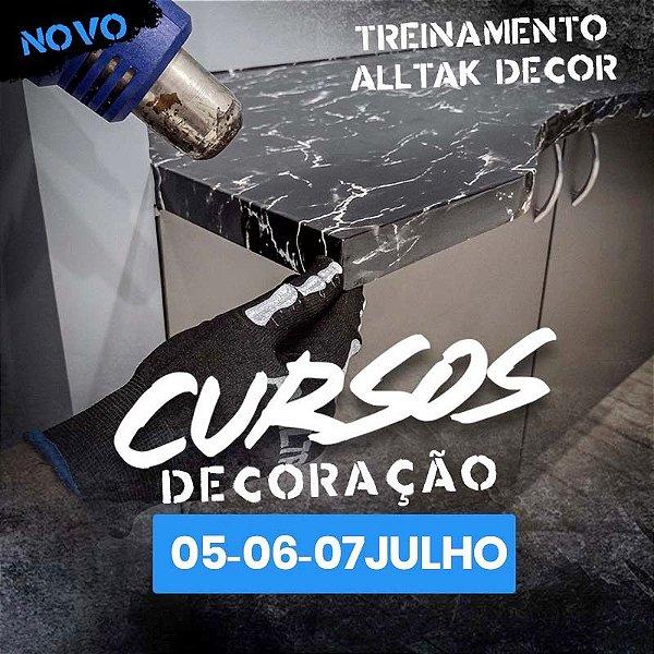 TREINAMENTO ALLTAK DECOR-  05, 06 e 07 de Julho - Guarulhos - SP