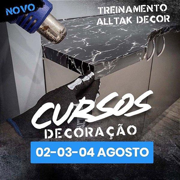TREINAMENTO ALLTAK DECOR-  02, 03 e 04 de Agosto - Guarulhos - SP
