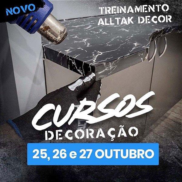 TREINAMENTO ALLTAK DECOR-  25, 26 e 27 de Outubro  - Guarulhos - SP